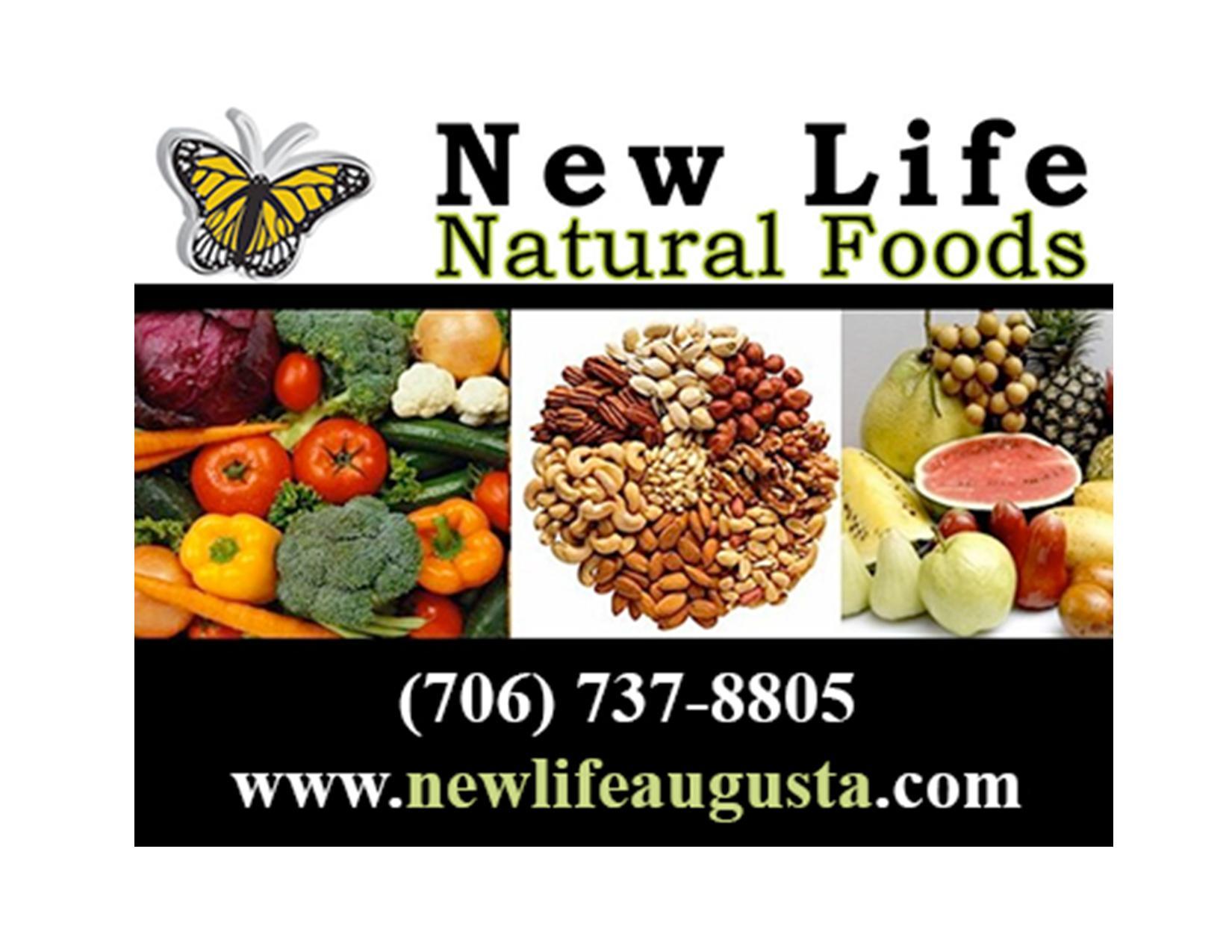 New Life Natural Foods Augusta Ga